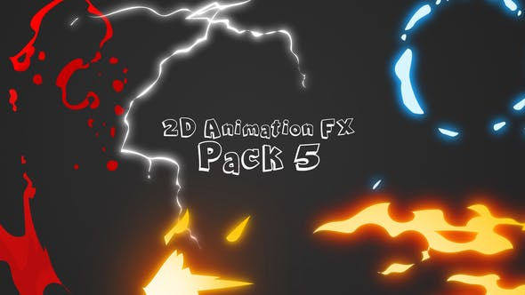 2D Animation Fx Pack 5