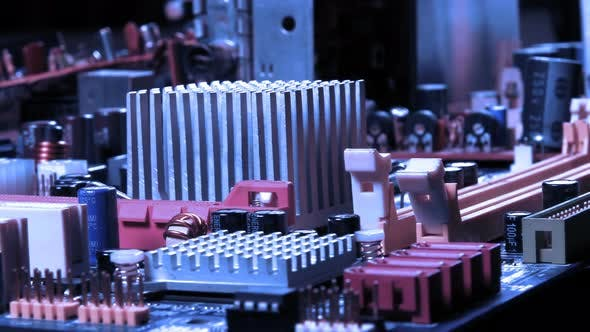 Thumbnail for Motherboard Hardware Electronic Technology Macro View 2