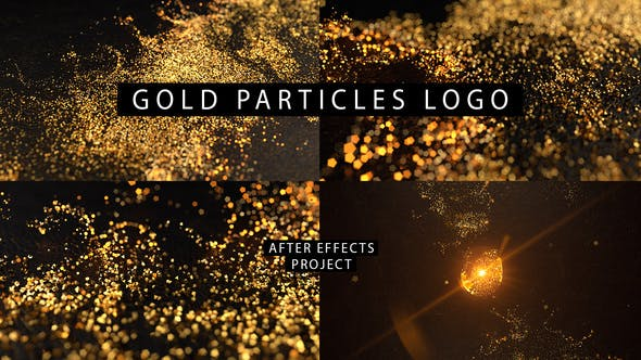 Thumbnail for Gold Particles Logo