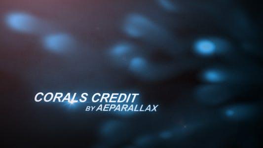 Thumbnail for Séquence de titre sous-marine - Coraux abstraits
