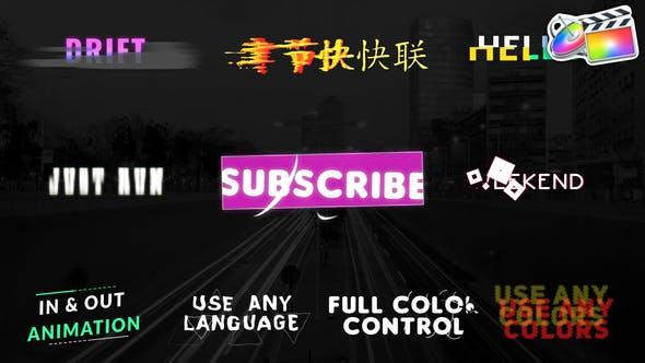 Thumbnail for Unique Titles | FCPX