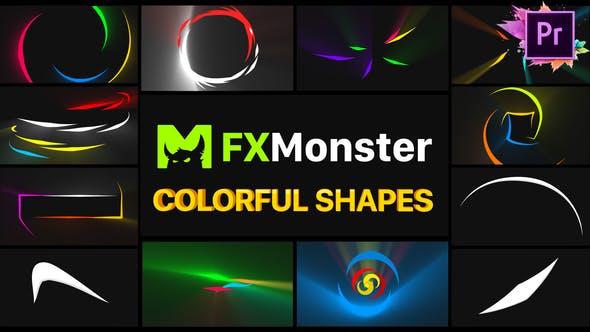 Thumbnail for Formes colorées | Premiere Pro MOGRT