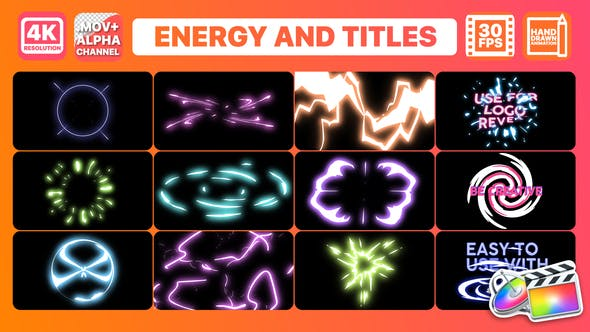 Thumbnail for Energy And Titles | FCPX