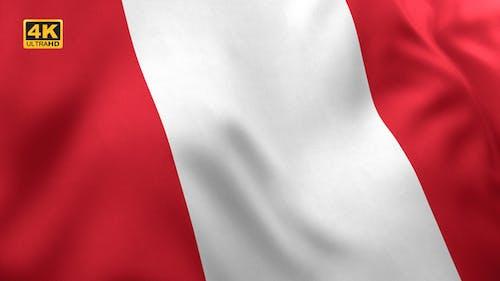 Peru Flag - 4K