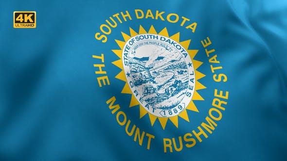 South Dakota State Flag - 4K