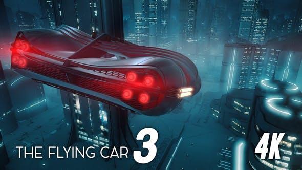 The Flying Car 3 4K