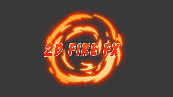 Thumbnail for 2D Fire FX