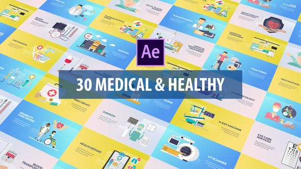 Thumbnail for Medical and Healthy Animation | After Effects
