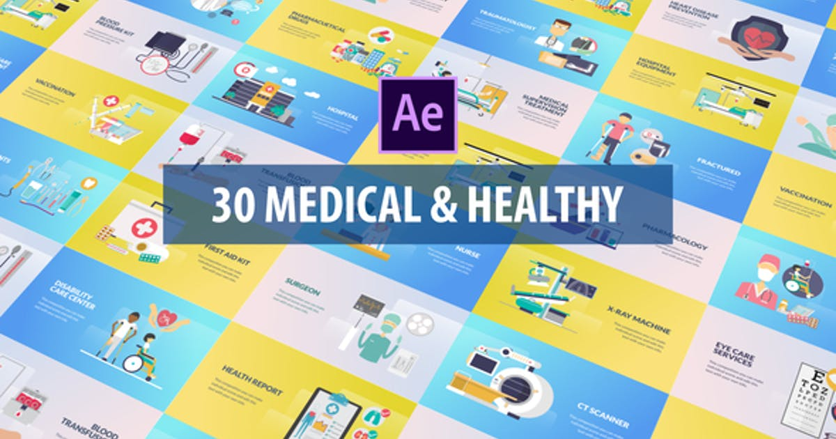 Medical and Healthy Animation | After Effects