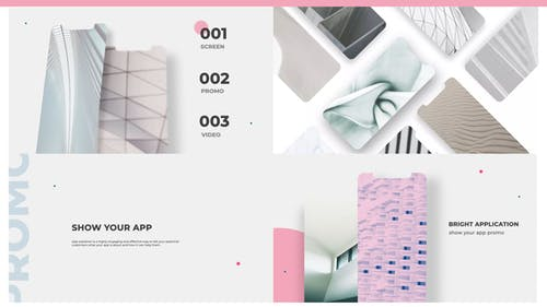 Bright App Screens Presentation