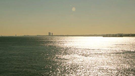 Thumbnail for Istanbul Bosphorus Evening Sun