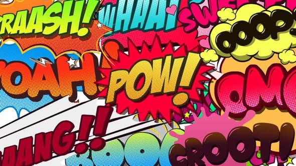 Thumbnail for Comic Bubbles Pack