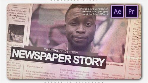 Newspaper Story Slideshow