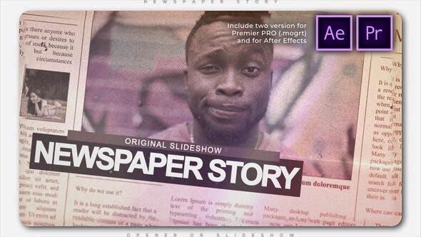 Presentación de la historia del periódico
