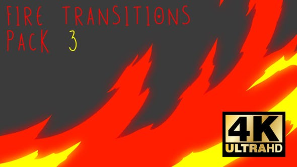 Thumbnail for Fire Transitions Pack 3