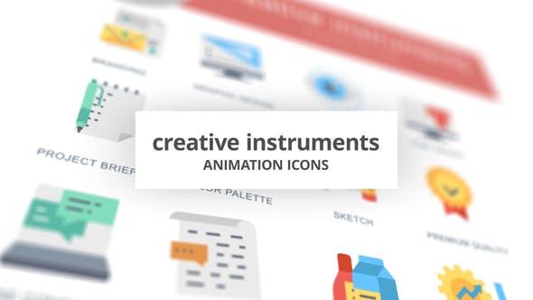 Creative Instruments - Animation Icons