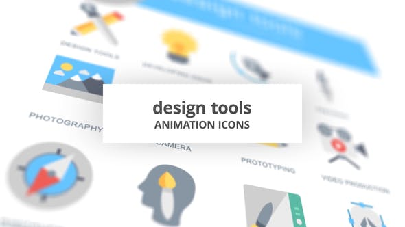 Thumbnail for Design Tools - Animation Icons
