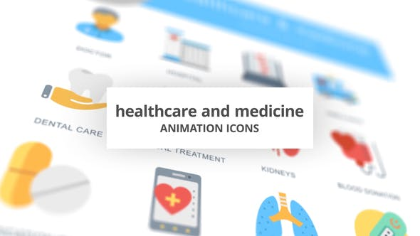 Thumbnail for Healthcare and Medicine - Animation Icons