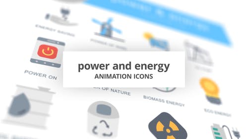 Power and Energy - Animation Icons