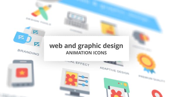 Thumbnail for WEB and Graphic Design - Animation Icons