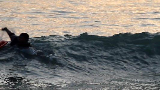 Thumbnail for Sunset Swimer