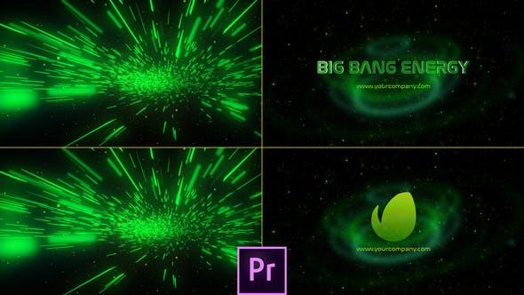 Thumbnail for Logo Big Bang Energy - Premiere Pro