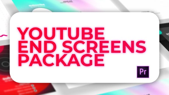 Thumbnail for Youtube End Screens Pack