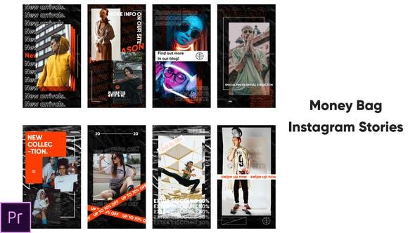 Money Bag - Instagram Stories