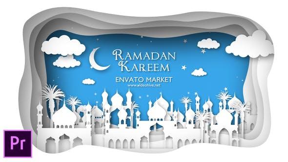 Thumbnail for Ramadan and Eid Mubarak Opener - Premiere Pro