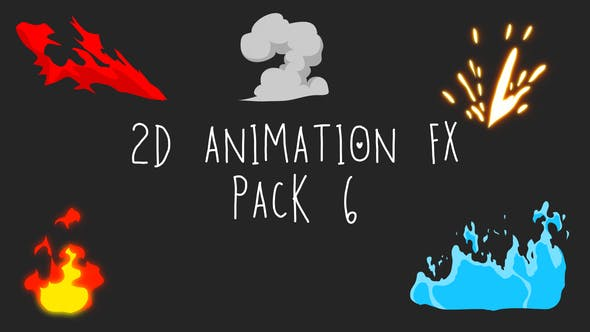 Thumbnail for 2D Animation FX Pack 6