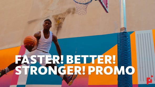 Thumbnail for Faster Better Stronger | For Final Cut & Apple Motion