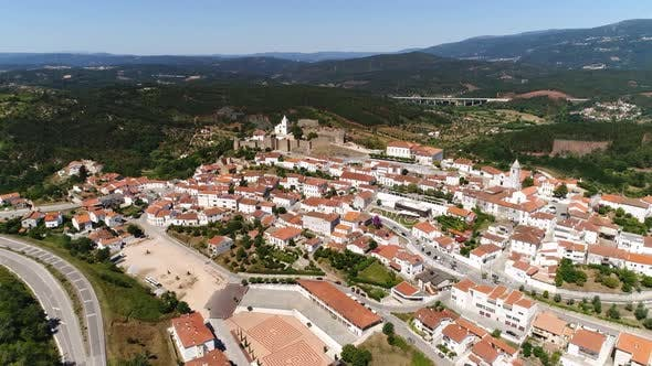 Thumbnail for Flying Over Medieval City of Penela, Portugal