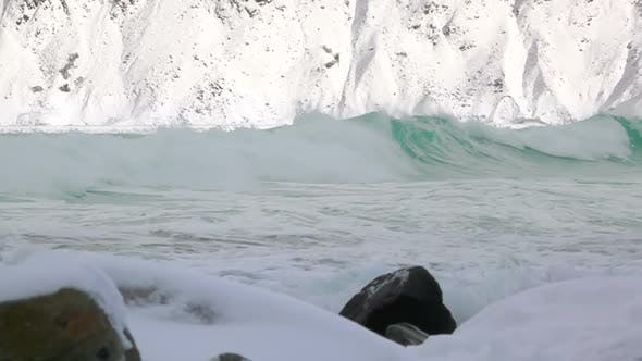 Thumbnail for Winter Waves in the Fjord