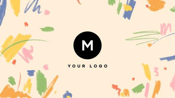 Thumbnail for Handgezeichneter Pinsel Scribble Logo