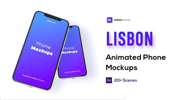 Thumbnail for Phone Mockup Pack