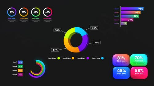 Infographic Graphs Toolkits