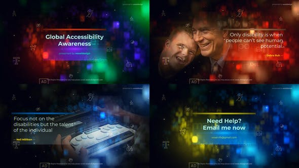 Thumbnail for Global Accessibility Awareness Opener