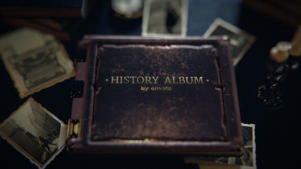 Old History Photo Album