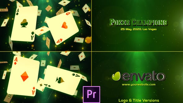 Thumbnail for Poker Champions - Premiere Pro