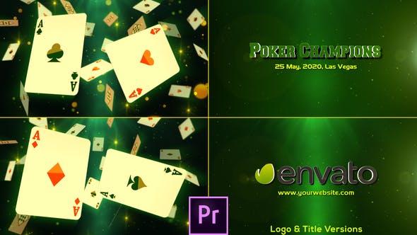Thumbnail for Campeones de poker - Premiere Pro