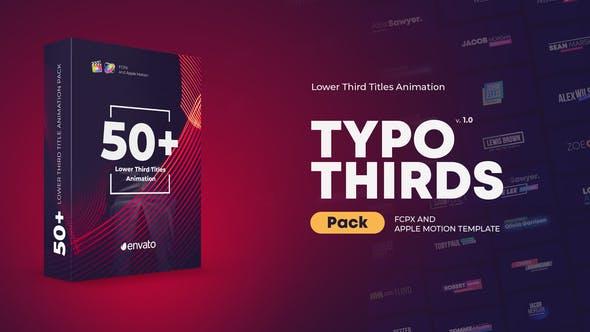 Thumbnail for Títulos de Lower Thirds para FCPX