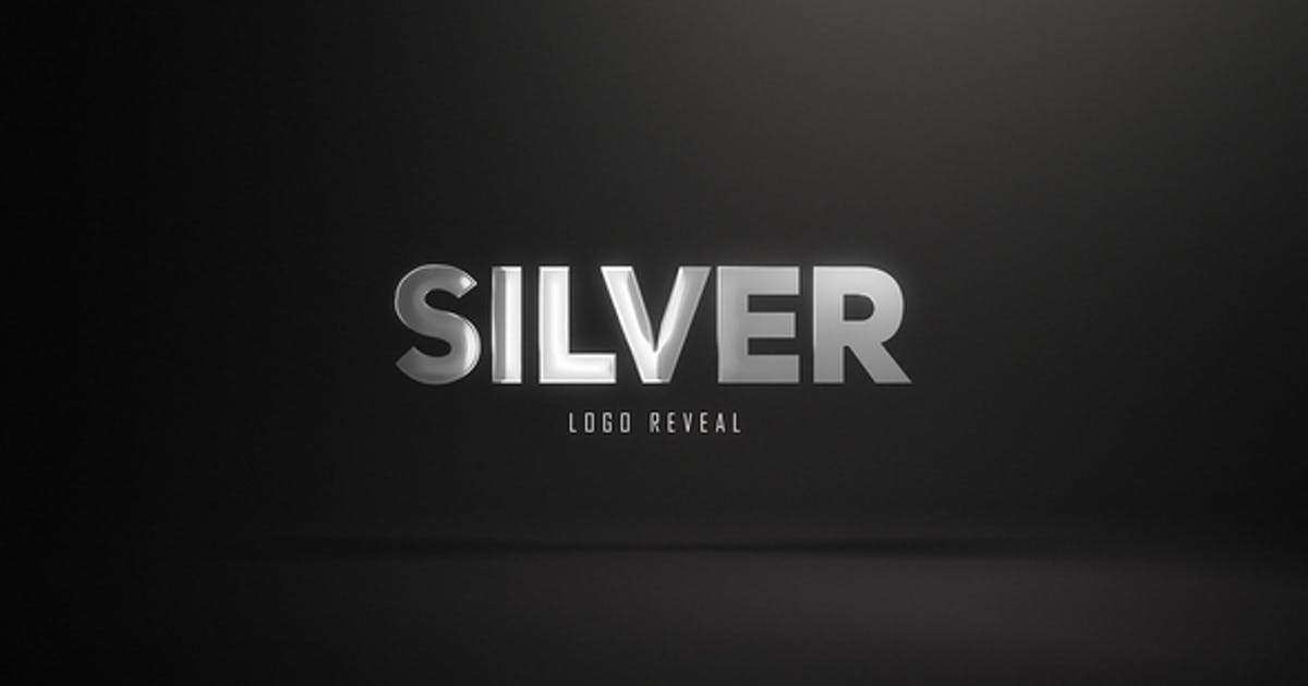 Silver Logo Reveal (3 versions)