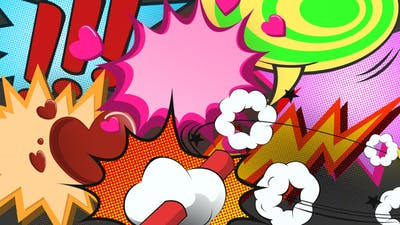 27 Comic Bubbles
