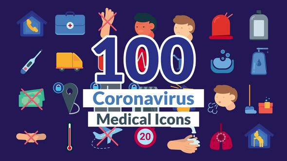 Thumbnail for Corona Virus Icons