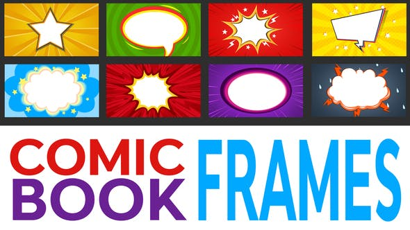 Thumbnail for Comic Book Frames