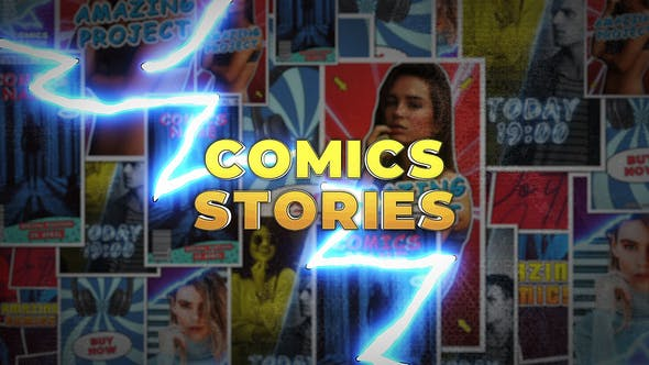 Thumbnail for Comics Instagram Stories