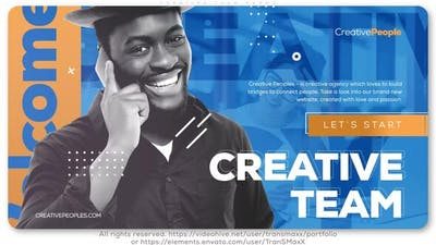 Creative People. Team Promo