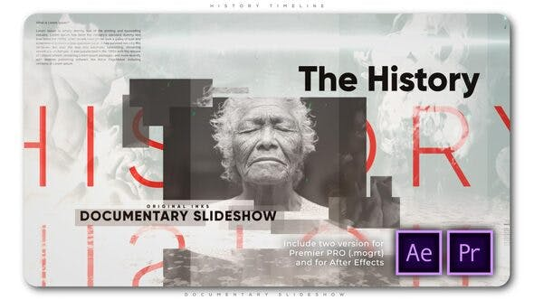 Thumbnail for History Timeline Documentary Slideshow