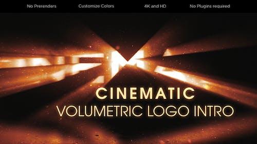 Cinematic Volumetric Logo Intro