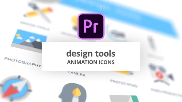 Design Tools - Animation Icons (MOGRT)